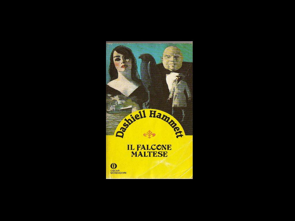 Il falcone maltese di DashiellHammett